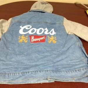 NWOT-Coors L-Sleeves Button Down Hoodie-107